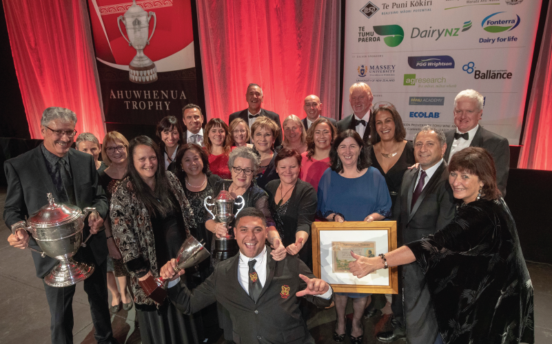 Clean sweep for Fonterra at Ahuwhenua awards