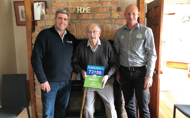 60 years of milk – Co-op farmer celebrates diamond supply anniversary