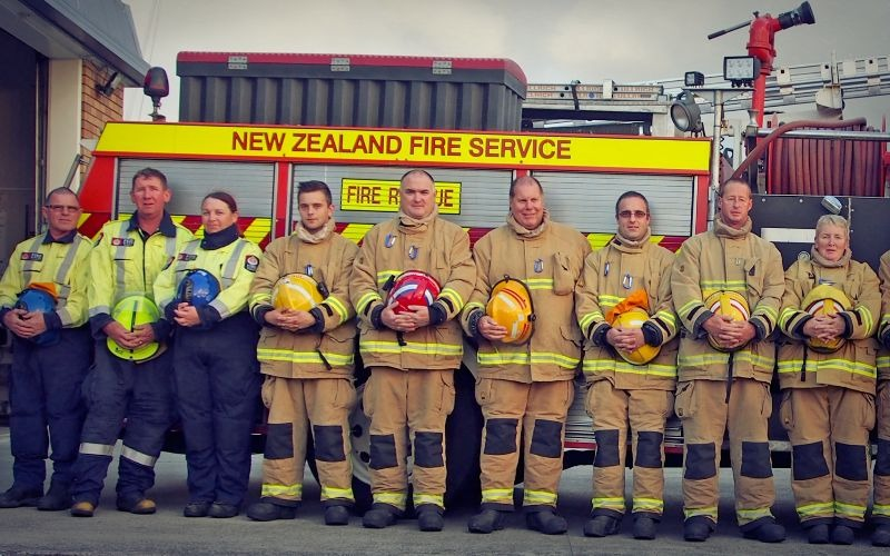 Edgecumbe Volunteer Fire Brigade wins Supreme Award at the Trustpower National Community Awards