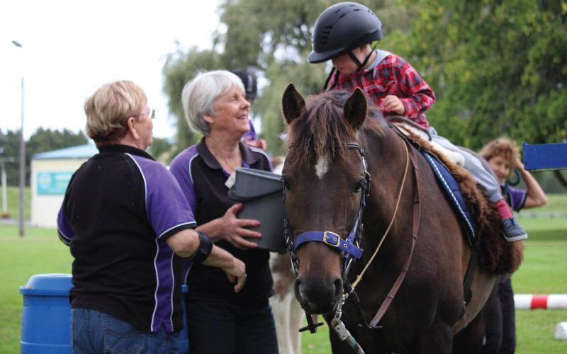 Riding for Disabled to get new saddles thanks to Fonterra funding