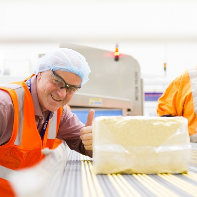 Cheddar Cheese - Neil Bickerstaffe from Fonterra Stanhope
